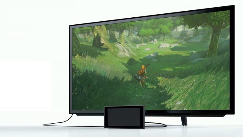 How To Play Switch On Tv If You Re Worried About The Dock