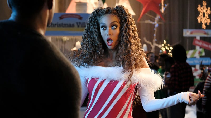 Tyra Banks as Eve in Freeform's Life-Size 2: A Christmas Eve