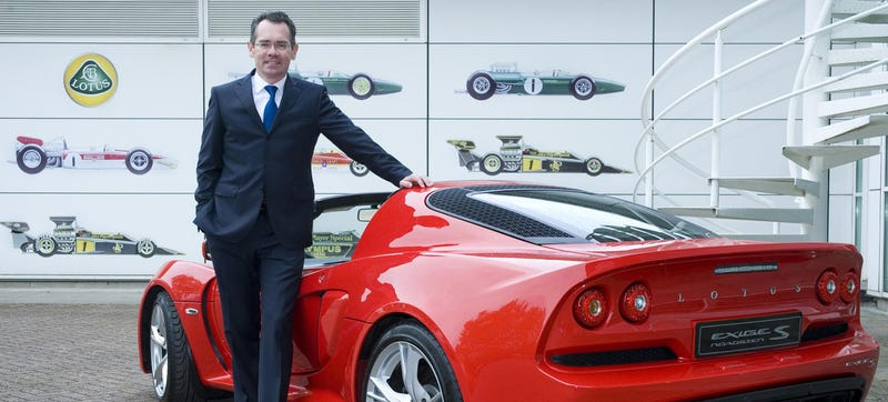 Illustration for article titled There's No Way The New CEO Of Lotus Can Be Worse Than The Last Guy