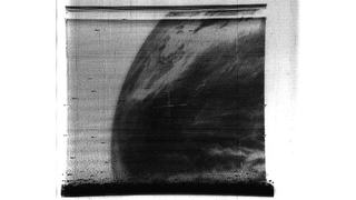 Illustration for article titled The first image of Earth taken by a weather satellite