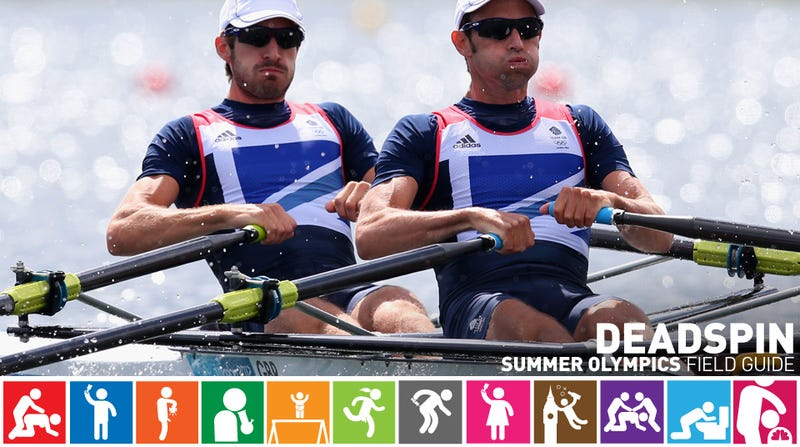 Illustration for article titled Olympics Field Guide: Zac Purchase & Mark Hunter: Rowing's Odd Couple