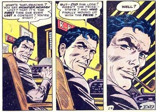 "Robert ""Bob"" Kanigher breaking the fourth wall."
