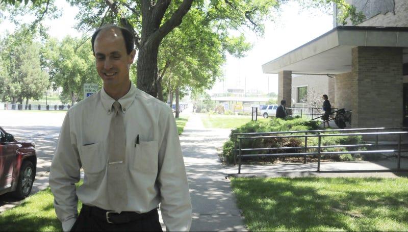 Seth Jeffs in July 2014 in Pierre, South Dakota. Photo via AP.