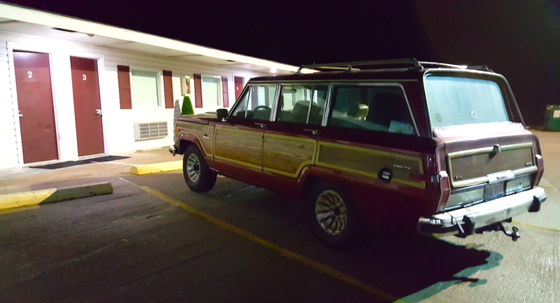Illustration for article titled What It Was Like Driving My $800 Jeep Grand Wagoneer 700 Miles To Missouri