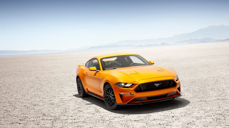 Illustration for article titled What Do You Want To Know About The 2018 Ford Mustang?