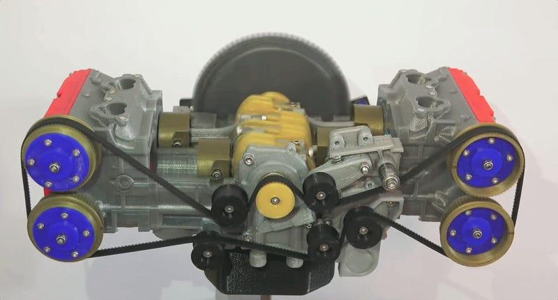 Q Significa Motor Boxer This Delightful 3D-Pri...