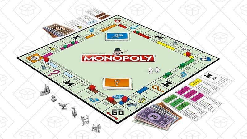 Monopoly Classic Game   $14   Amazon