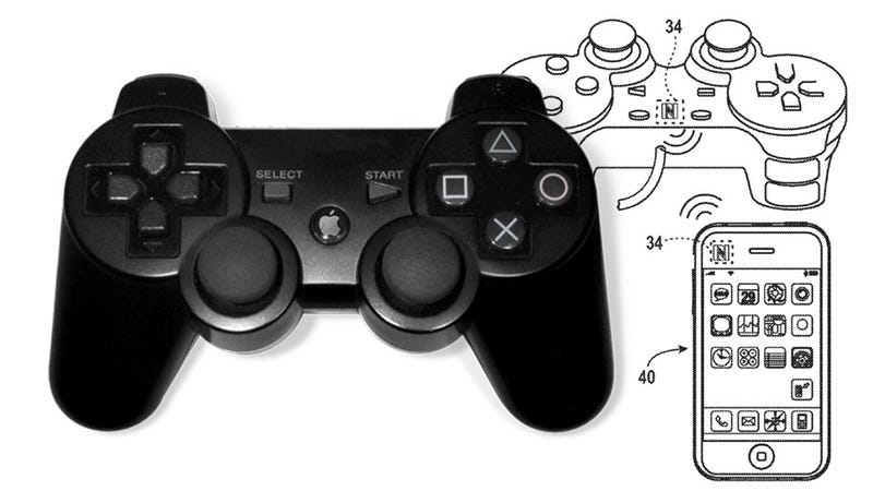 Illustration for article titled Apple Has a Patent Involving a Physical Video Game Controller [Update]