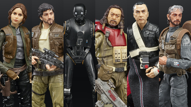 Rogue One s Crew Is Finally Getting the Star Wars Figures They Deserve