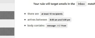 Illustration for article titled Syphir Adds Awesome Advanced Filters to Gmail
