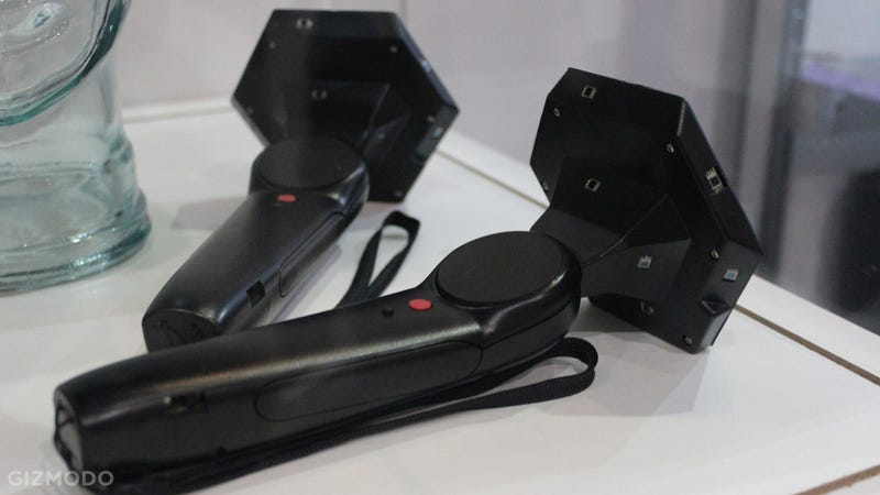 Illustration for article titled Here's What Valve's Virtual Reality Controllers Look Like