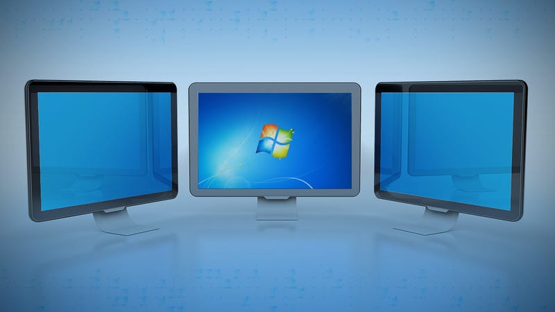 Dual screen in windows xp
