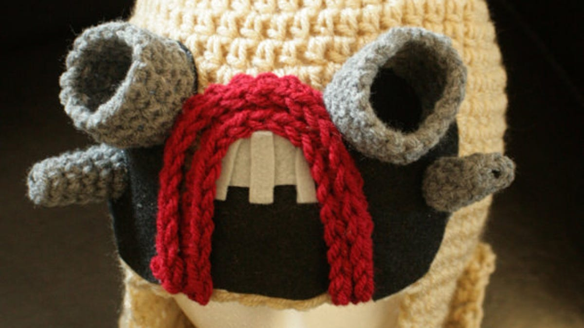 Transformers Crocheted Cap Makes You A Human In Disguise