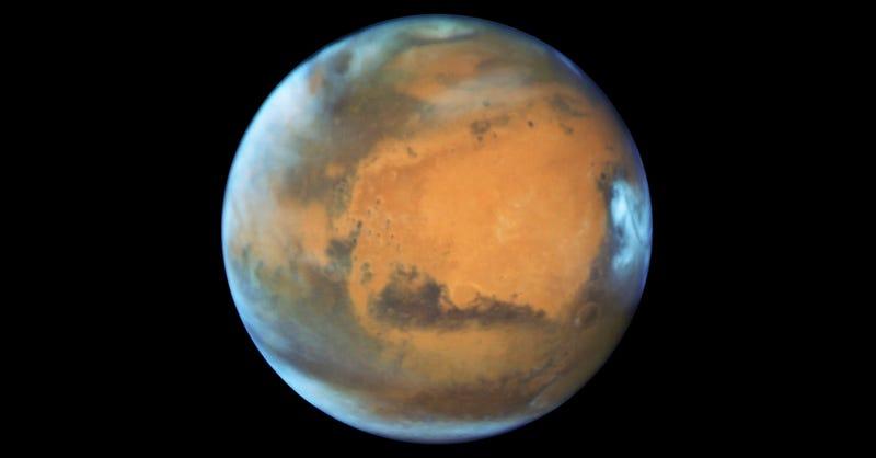 El último descubrimiento del Hubble revela cómo cambian las estaciones en Marte