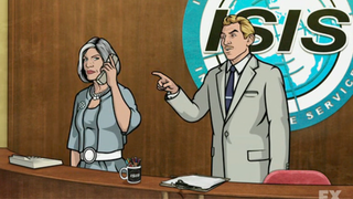 Illustration for article titled Archer's Spy Agency will change its name, thanks to Jihadi Militants