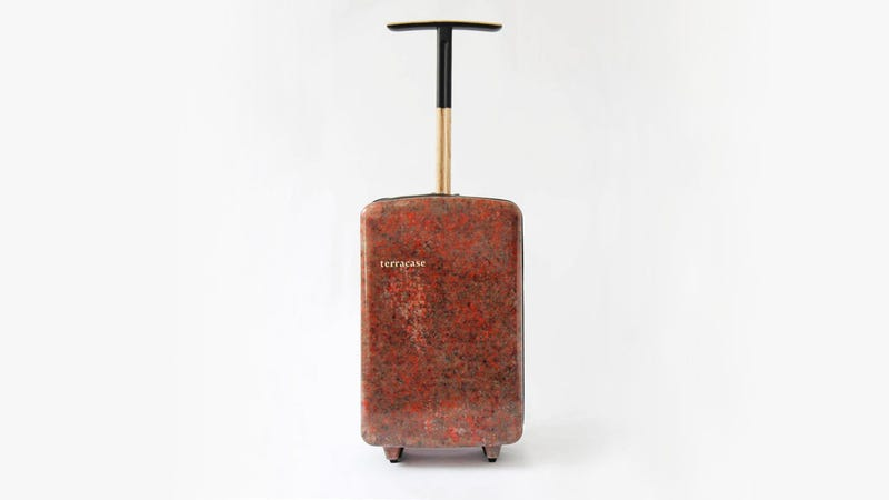 Illustration for article titled This Hard Shell Suitcase Is Made From Recycled Carpet