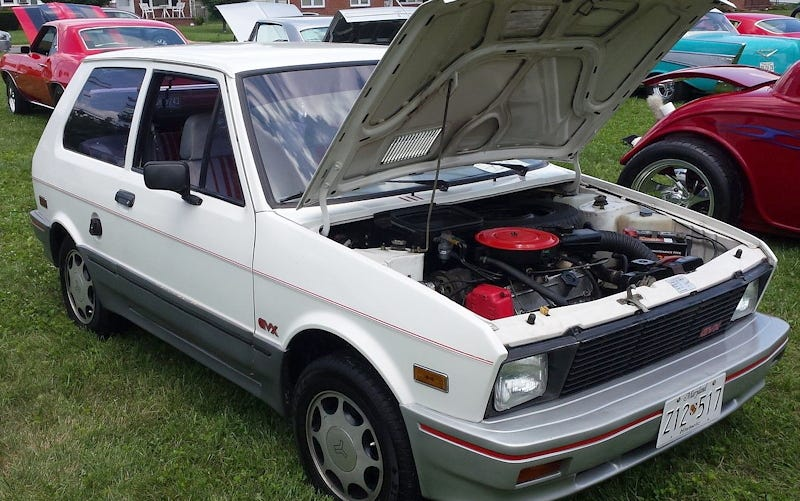Illustration for article titled Would You Pay $5,500 For A Rare Fancy-Pants 1988 Yugo GVX?