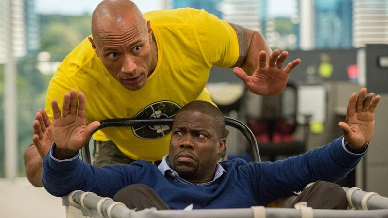 Illustration for article titled Chicago, see The Rock and Kevin Hart in Central Intelligence early and for free