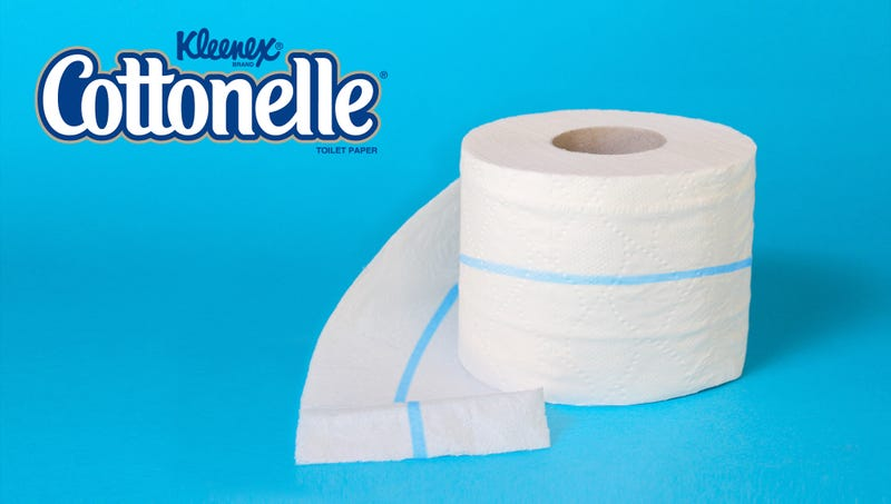 Illustration for article titled Cottonelle Adds Blue Strip To Toilet Paper But Keeps What It Does A Secret