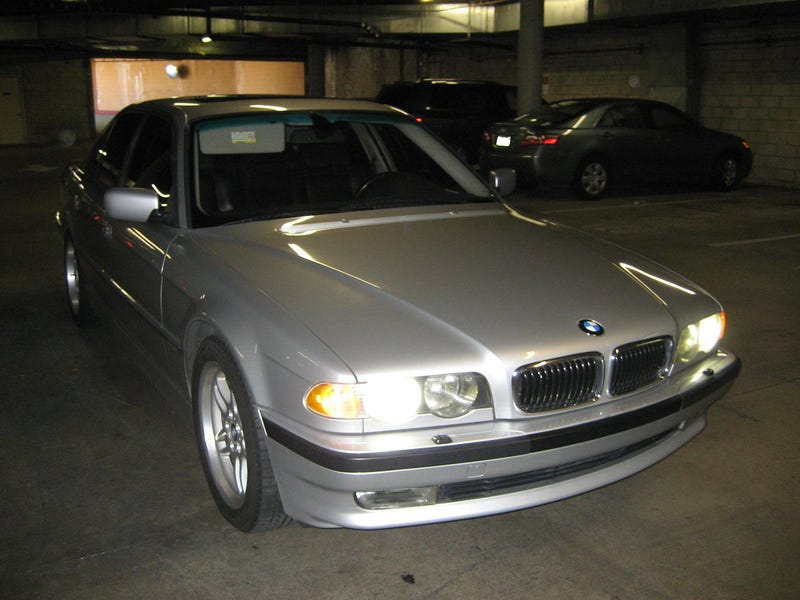 Illustration for article titled For $6,999, this 740i makes you do all the work