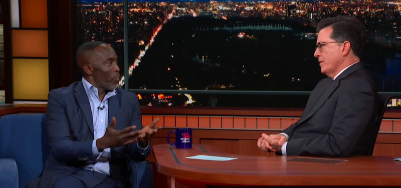 Michael Kenneth Williams, Stephen Colbert