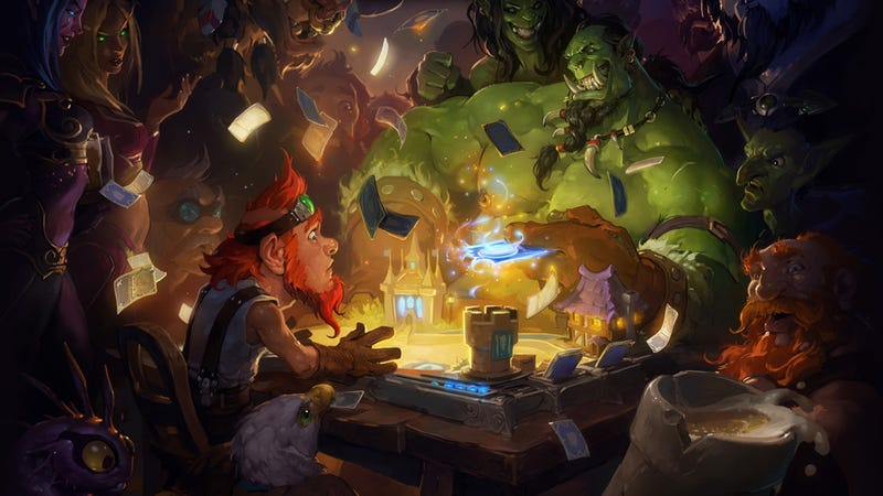 Illustration for article titled Blizzard's Hearthstone Might Have Competition in China