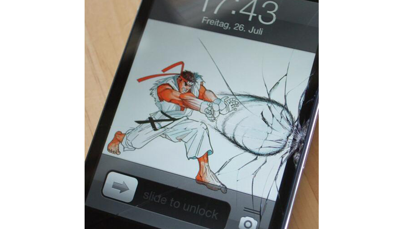 8/4/2014: How To Make The Best Of A Cracked Phone Screen