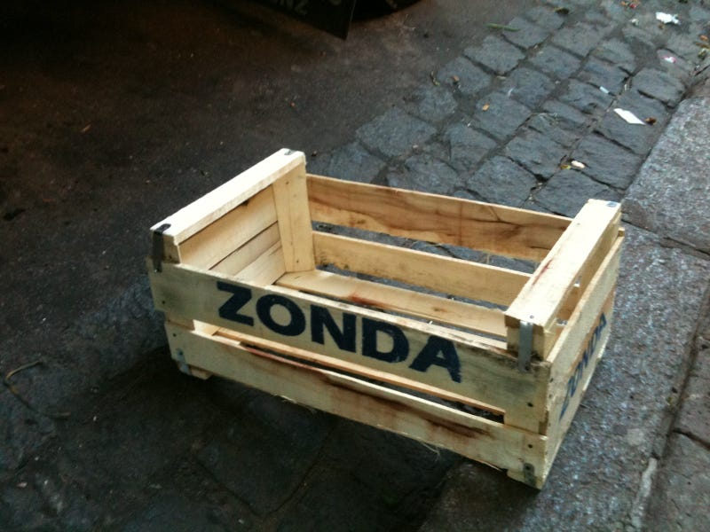 Illustration for article titled The Pagani Zonda Was Named After a Fruit Crate