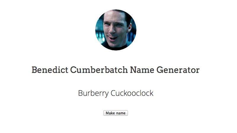 Use the Benedict Cumbe...
