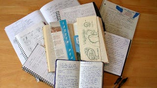 Illustration for article titled One Notebook or Many Notebooks?