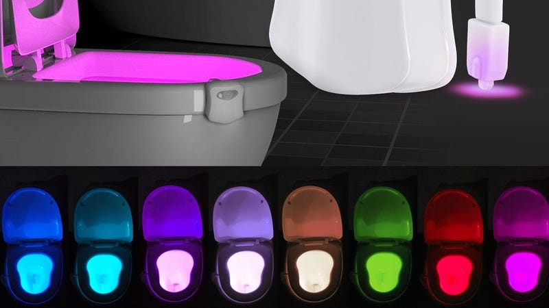 ihomy Toilet Night Light, $6