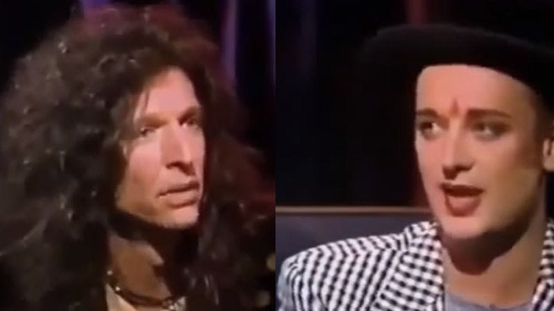 "Screenshot: ""Howard Stern E Interview Show With Boy George"" (YouTube)"