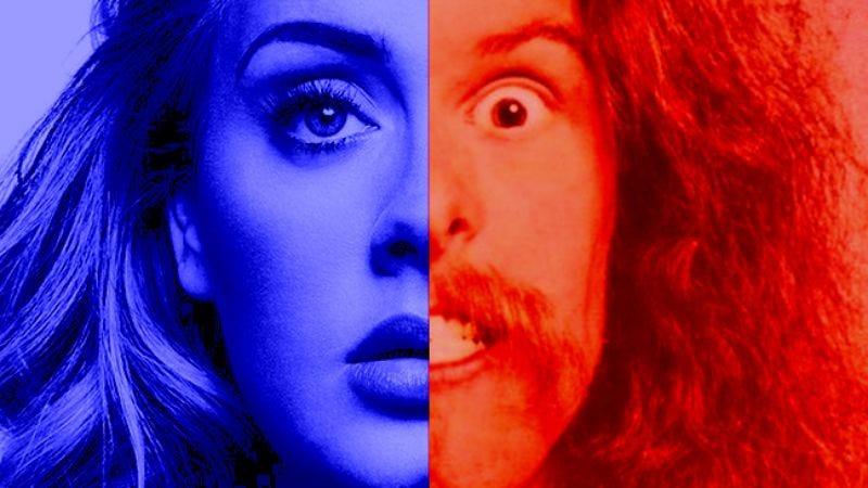 Adele and Ted Nugent (Photo Illustration: Joe Blevins)