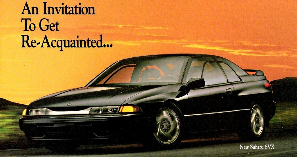 how to make the subaru svx the car it deserves to bewelcome to fatal flaw, where i choose a cool car that is made significantly less desirable by one major, glaring fault \u2014 and show you how to fix it