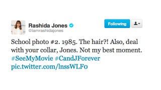 Illustration for article titled Pics or It Didn't Happen: Rashida Jones Was An Adorable Grade School Dork
