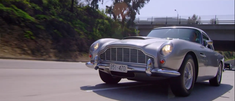 Illustration for article titled Jerry Seinfeld Is Out To Save The World In An Aston Martin DB5