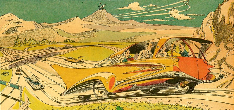 Illustration for article titled All Work and No Play Makes Self-Driving Cars a Dull Ploy