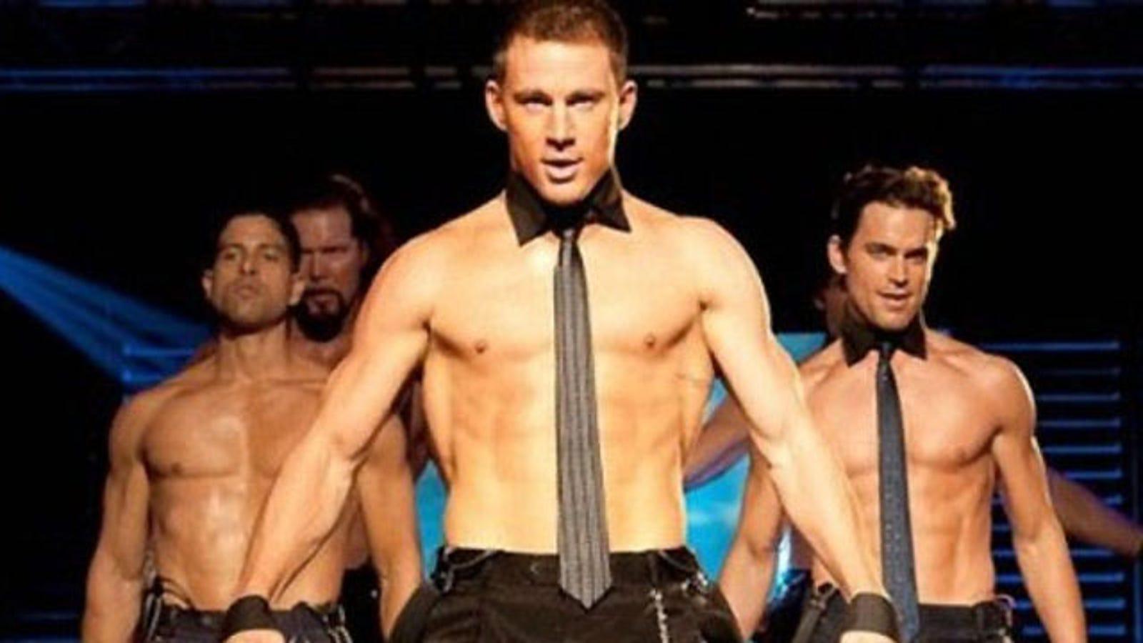 Glorias male strip club