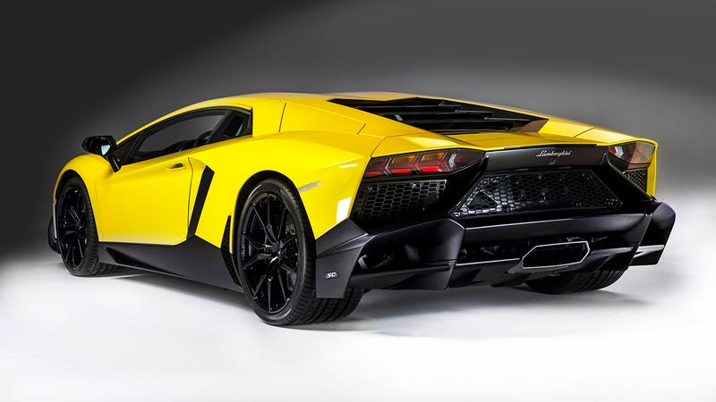 Yesterday, We Gave You The First Photos Of The Of Lamborghiniu0027s First  Anniversario Edition Car, The Lamborghini Aventador LP720 4 Debuting In  Shanghai This ...