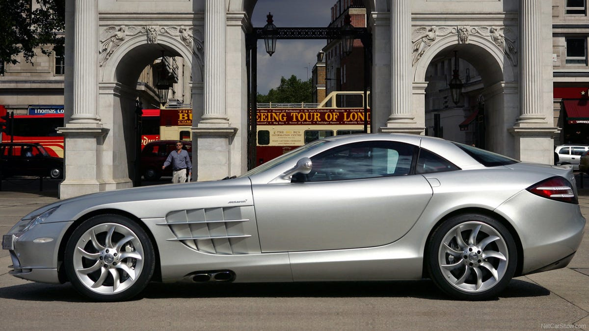 The Mercedes Benz Slr Mclaren Is And Is Not A Supercar