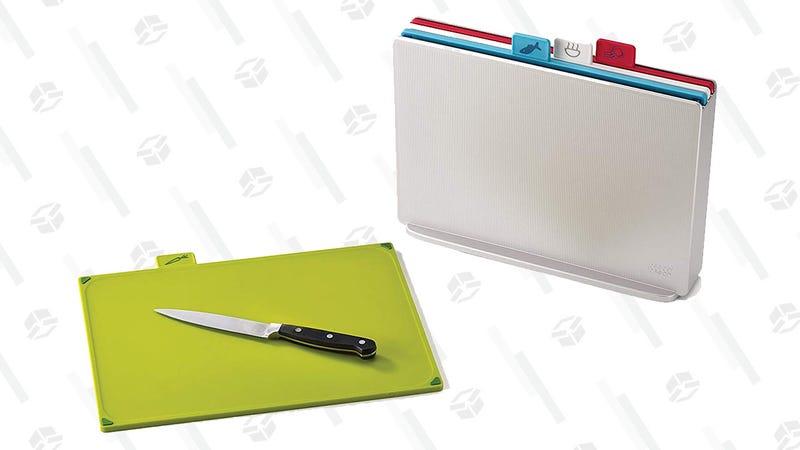 Joseph Joseph  Index Plastic Cutting Board Set | $24 | Amazon