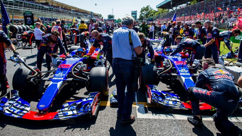 McLaren and Toro Rosso to Swap Engine Suppliers for 2018