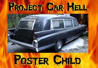 Illustration for article titled Project Car Hell Poster Child, Halloween Edition