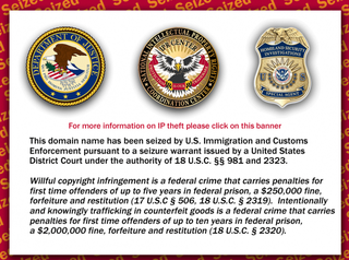 Illustration for article titled Feds Seized Hip-Hop Site for a Year, Waiting for Proof of Infringement