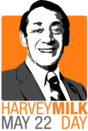 Illustration for article titled Today is Harvey Milk Day.