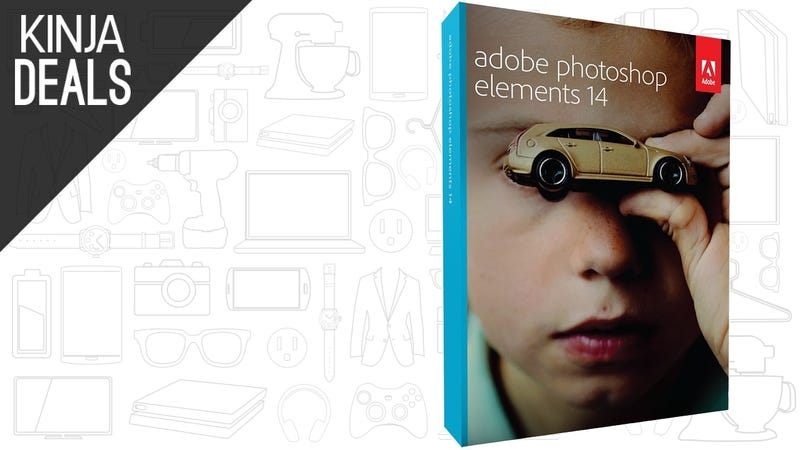 Illustration for article titled Prime Members Can Own Adobe Photoshop Elements For Just $40