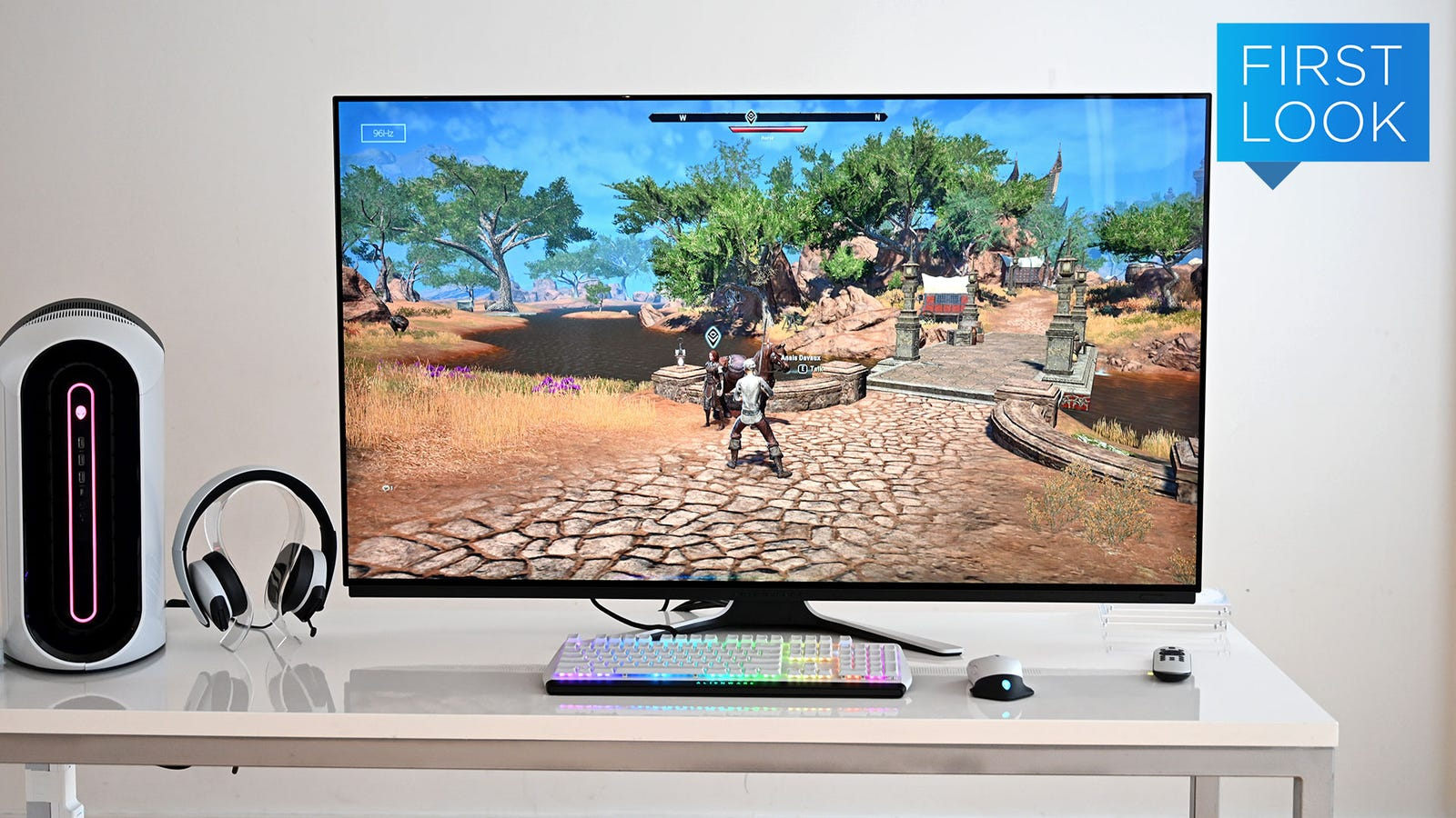 Alienware Made the World's First 55-inch OLED Gaming Monitor, and It Looks Sick