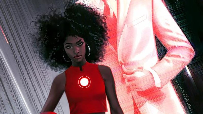 Illustration for article titled A 15-Year-Old Black Girl Is Going to Replace Tony Stark As Iron Man