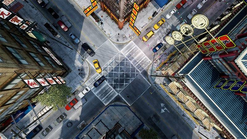 Illustration for article titled A Beautiful New Perspective on Grand Theft Auto's Liberty City