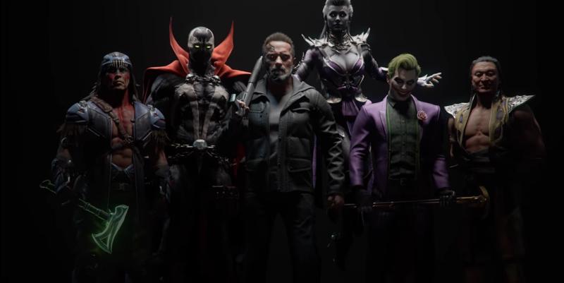Illustration for article titled Mortal Kombat 11 revela nuevos luchadores, incluidos Terminator y Joker